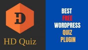 HD Quiz: Best Free WordPress Quiz Plugin