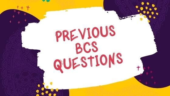 BCS Questions